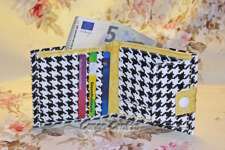Gabriele´s Conga-Crafts Blog ...: Kleiner Geldbeutel + Dreifächertäschle