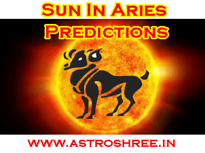 what happen when sun enter in aries