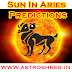 Sun In Aries Results/predictions