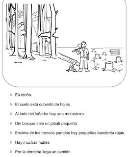 COMPRENSIÓN LECTORA. CONSIGNAS