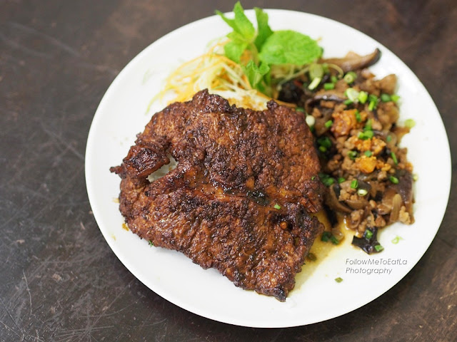 Pork Chop Minced Pork Mushroom Rice RM 9.90
