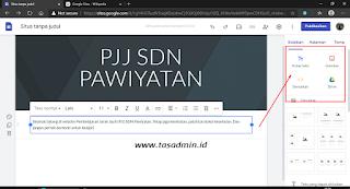 Masukan Teks Pada Google Site