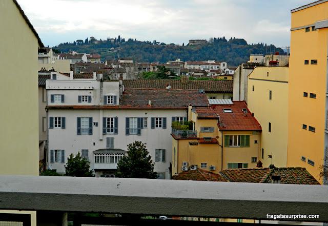 Vista do terraço do Hotel C-Diplomat