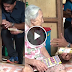 WATCH: 100-year-old Lola receives 100k benefit from the Duterte administration