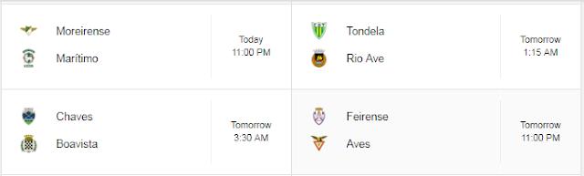 Jadwal Liga Portugal