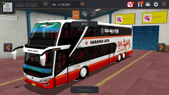 Livery JB2+ SDD MD Creation Harapan Jaya