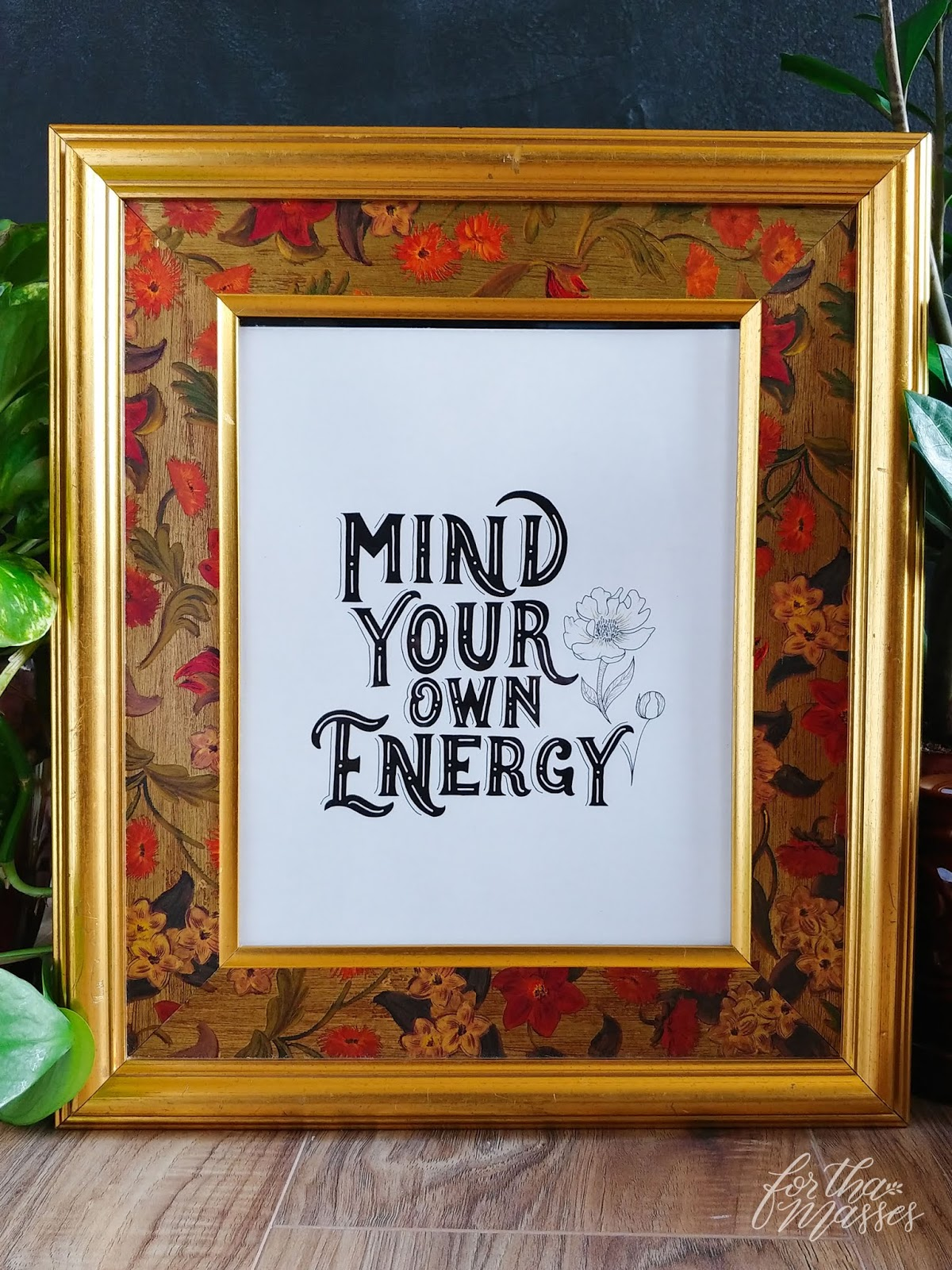 for tha masses mind your own energy