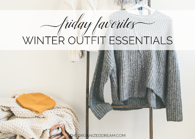 Friday Favorites: Winter Outfit Essentials    #fashion #winter #clothing #style