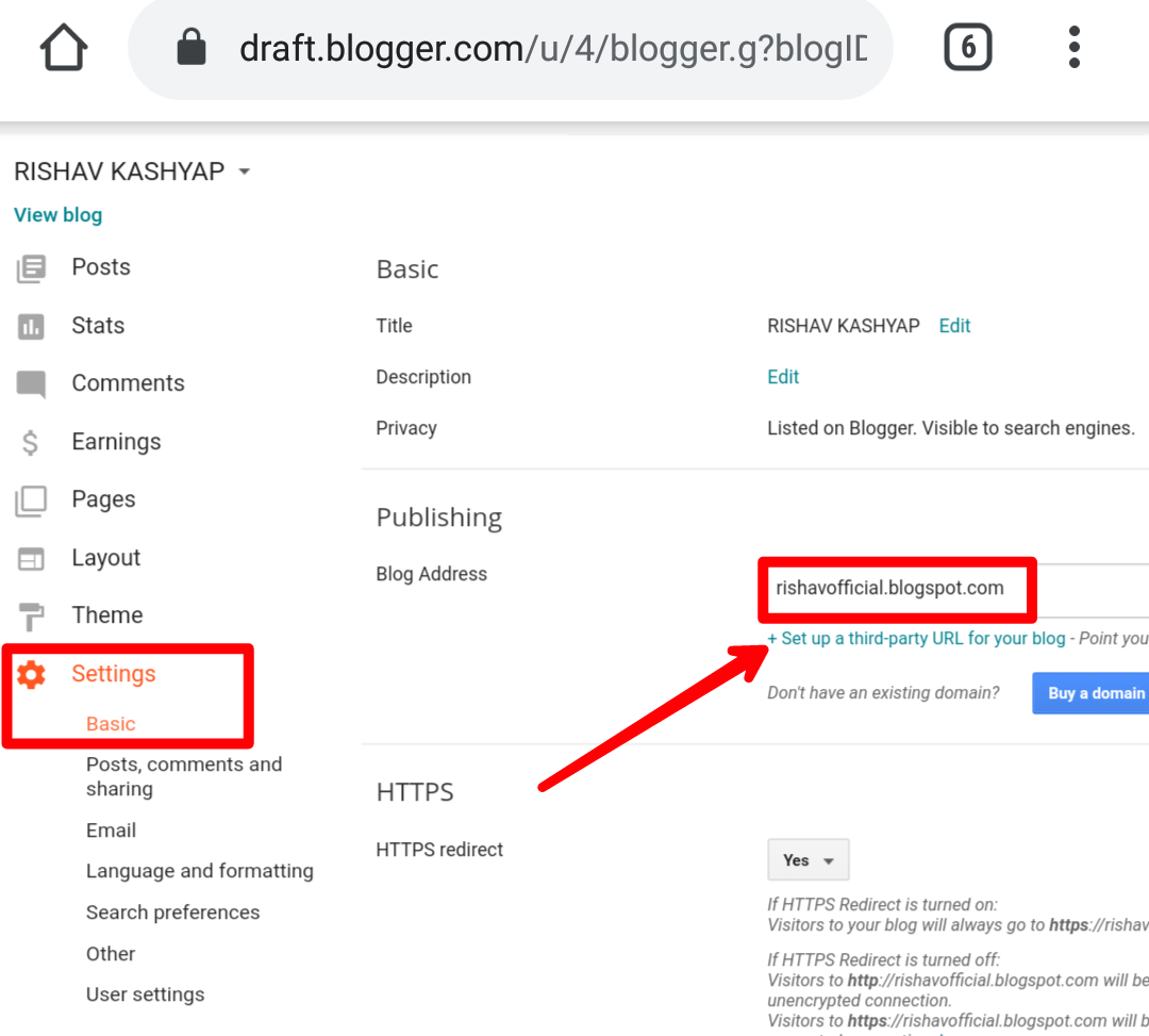 How To Add Custom Domain To blogger - GoDaddy 2020 Complete Guide