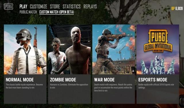 Cara Memainkan Mode Zombie PUBG