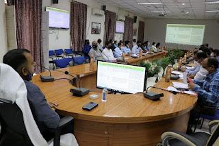 समयावधि पत्रों की समीक्षा बैठक आयोजित