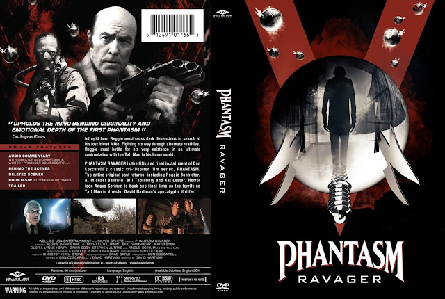 Phantasm: Ravager DVD Cover