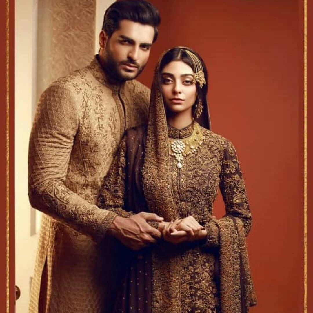 Bridal Photoshoot of Actress Noor Zafar Khan and Omar Shahzad
