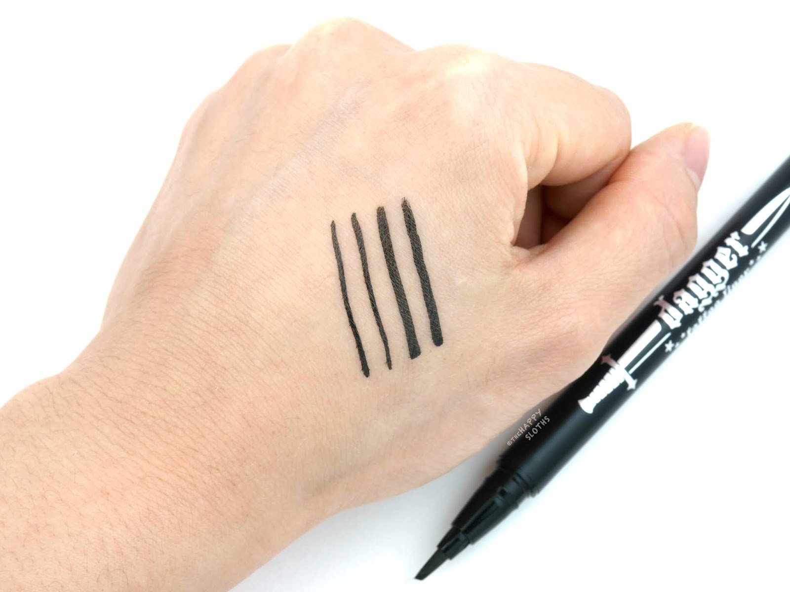 Kat Von D   Dagger Tattoo Liner: Review and Swatches