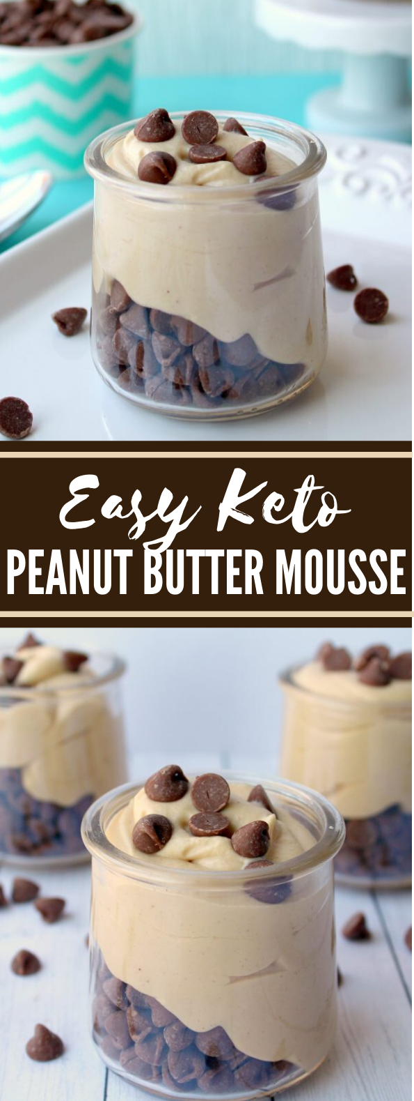 EASY KETO PEANUT BUTTER MOUSSE #healthy #desserts
