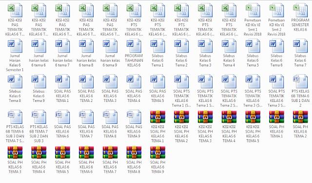 Download Perangkat Pembelajaran K-13 Kelas 6 SD/MI Terlengkap