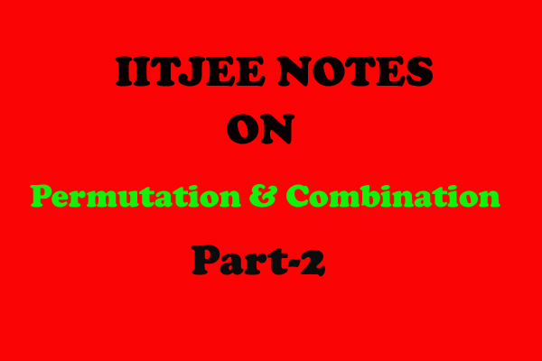 permutation and combination notes-maths
