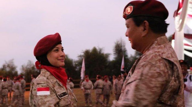 Rachel Maryam Ungkap Percakapannya dengan Prabowo saat Hadiri Diklat Anggota DPR Fraksi Gerindra
