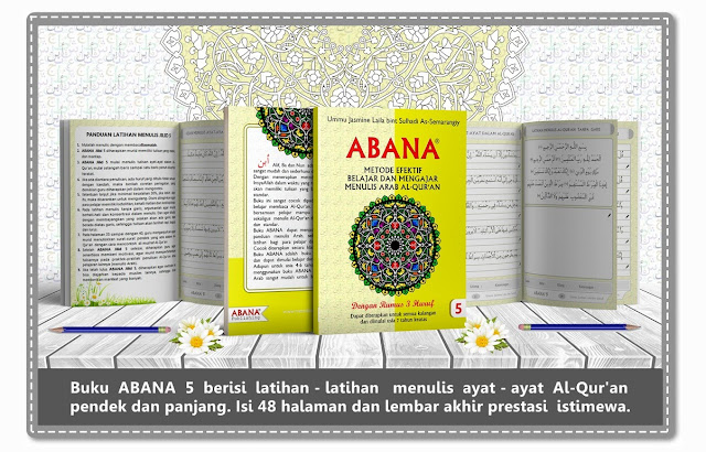 Buku Menulis Khat Arab ABANA [Jilid 5]