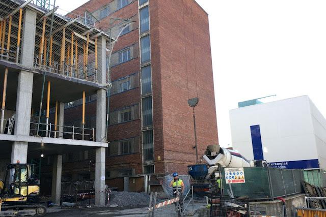 BioCruces durante la fase de construcción