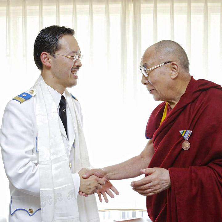 Зустріч із Далай-ламою (листопад 2015 р.)