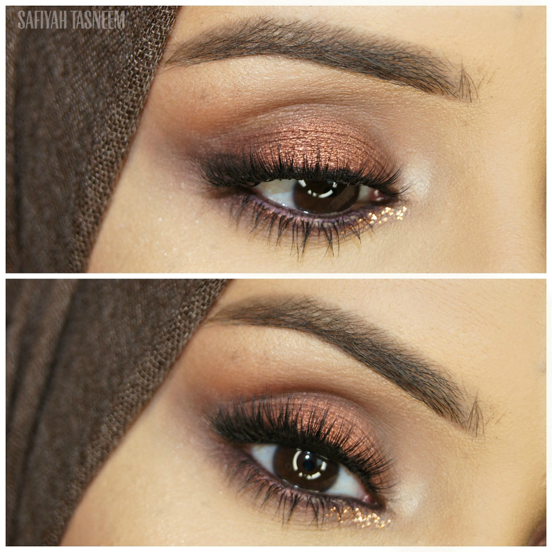 Nude Look Safiyah Tasneem : Friday Fotd: Naked Heat Makeup Looks - Look 1 - Baked Ember