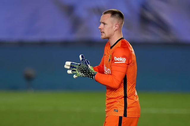 After the Clasico loss, Ter Stegen says Barcelona will 'fight until the end.'