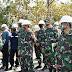 Mayjen TNI Arif Rahman Tinjau Pembangunan Jembatan di Desa Celebung