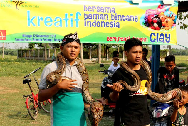 Ngopi Bareng Sahabat Reptil Bekasi Di Rumah Pelangi