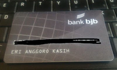 Ilustrasi kartu ATM BJB baru.