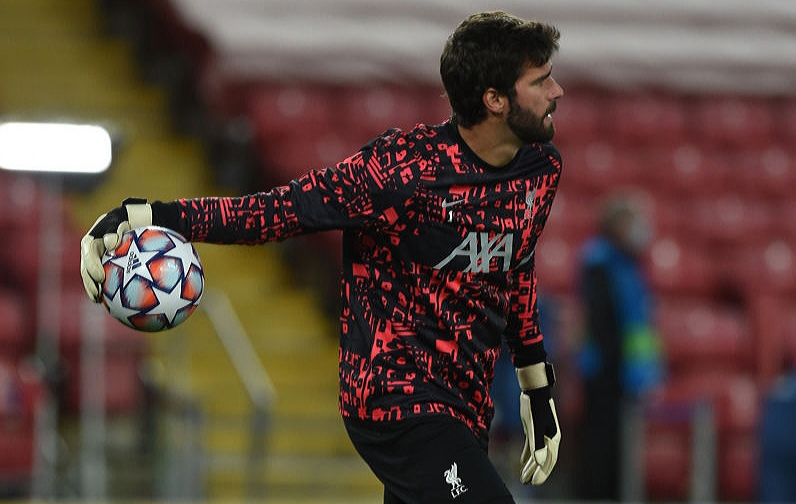 Alisson Becker believes Liverpool can stand tough times amid injury crisis.