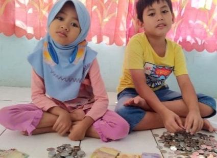 Anak Kelas 4 SD di Palembang Beli Hewan Qurban Rp 1,9 Juta dengan Uang Celengan