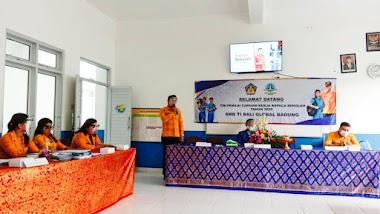SMK TI Bali Global Badung Laksanakan Kegiatan Penilaian Kinerja Kepala Sekolah (PKKS) Tahun 2020