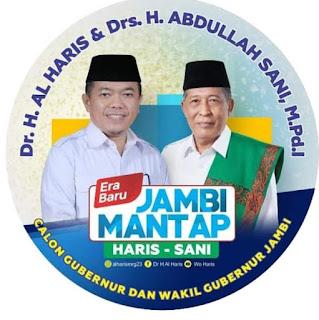 Inilah Wajah Gubernur Jambi Dan Wakil Gubernur Periode 2021-2026
