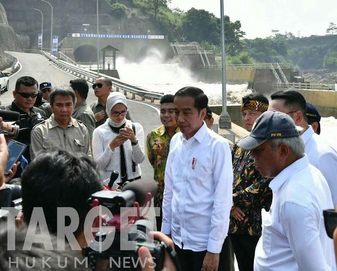 Resmikan Terowongan Nanjung, Presiden Jokowi : Efektif Kurangi Dampak Banjir di Bandung Selatan