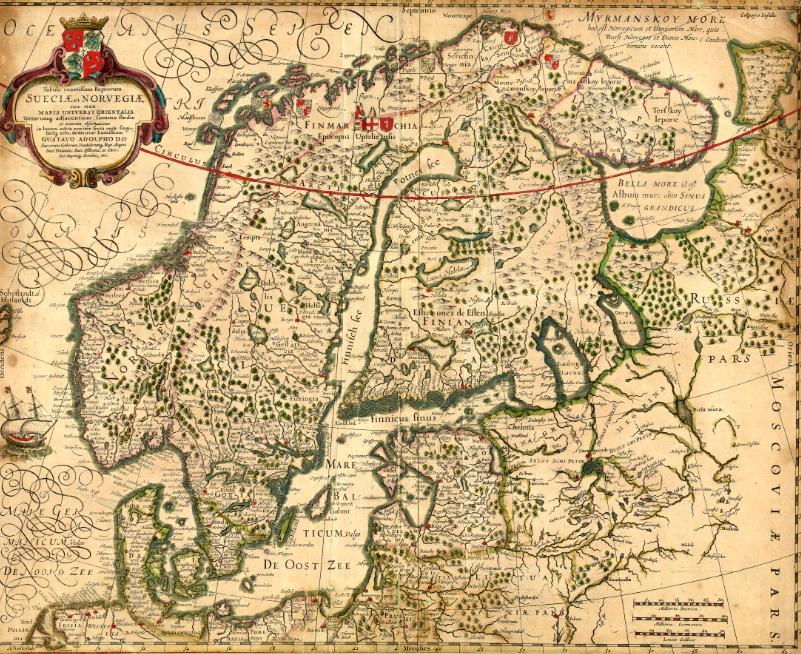 karta gammal Ladan: Åland på historiska kartor   The Aland Isles on historical maps karta gammal