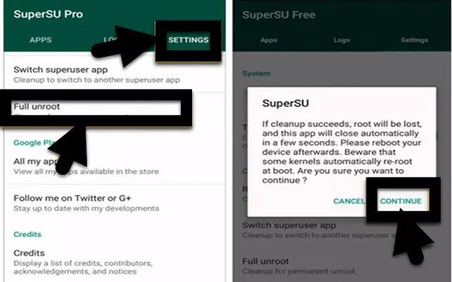 Download dan Cara Install SuperSU