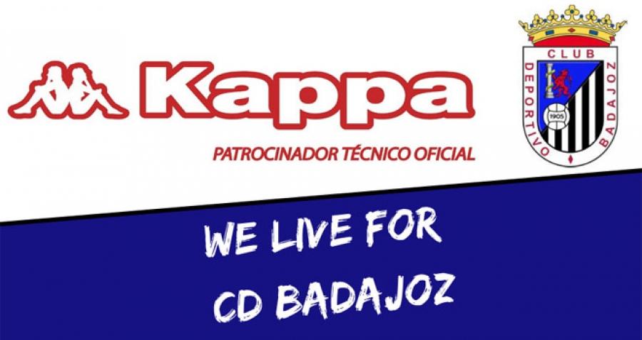 wspaniały wygląd zamówienie online odebrane Nuevo Fútbol: El Badajoz firma por la marca Kappa