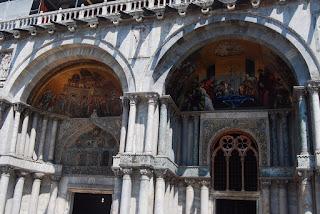 basilique Saint-Marc, vue des portails