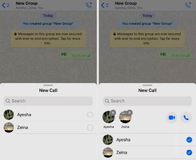 كيفية إجراء مكالمات فيديو مع العديد من جهات الاتصال على تطبيق WhatsApp في وقت واحد