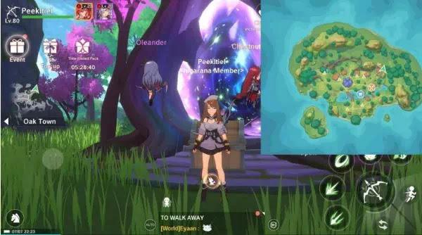 Letak Lokasi Treasure chests di The Legend of Neverland Game-2