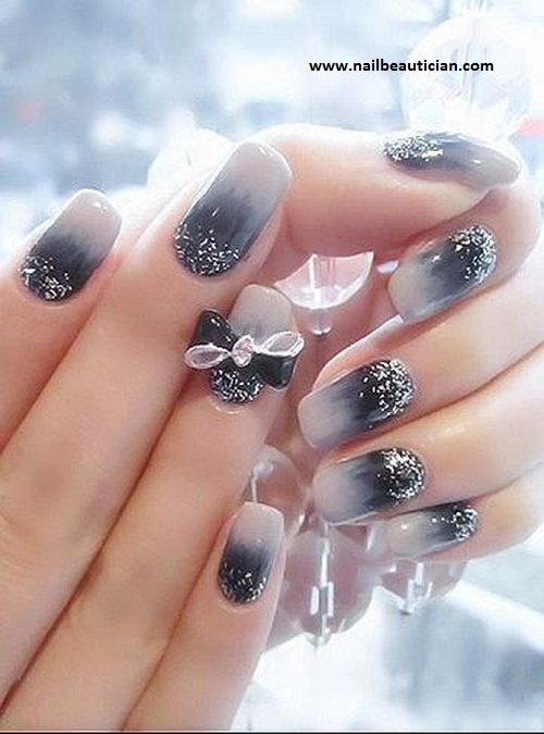 Nail Beautician: Fancy Wedding Nail Art