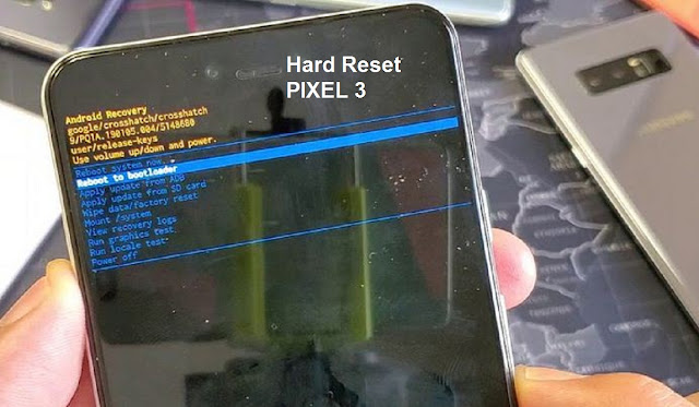 hard reset pixel 3
