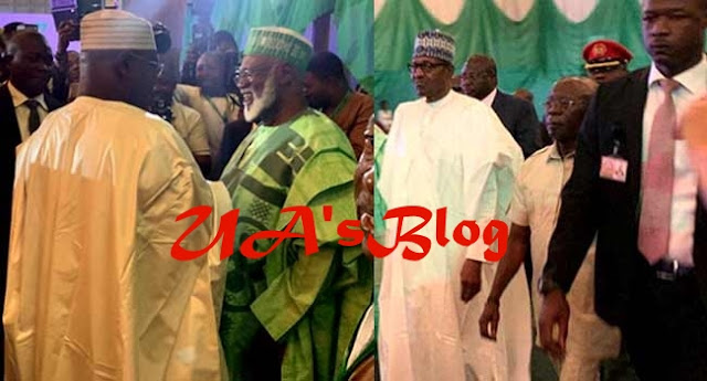 BREAKING: Atiku, Buhari arrive at venue for Signing of Second Peace Accord (PHOTOS)