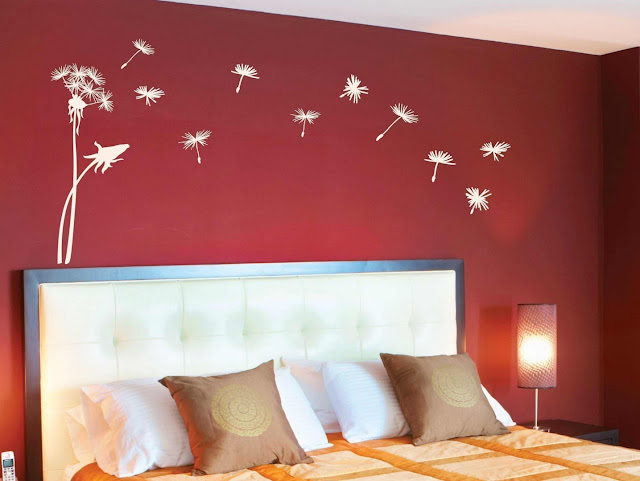 wall painting design ideas for bedroom