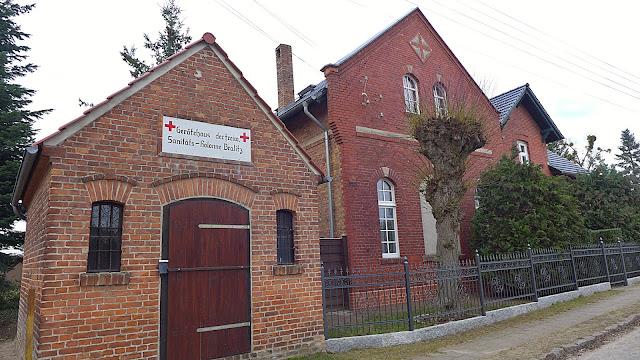 Backsteinhaus renoviert Brandenburg Bralitz Bad Freienwalde