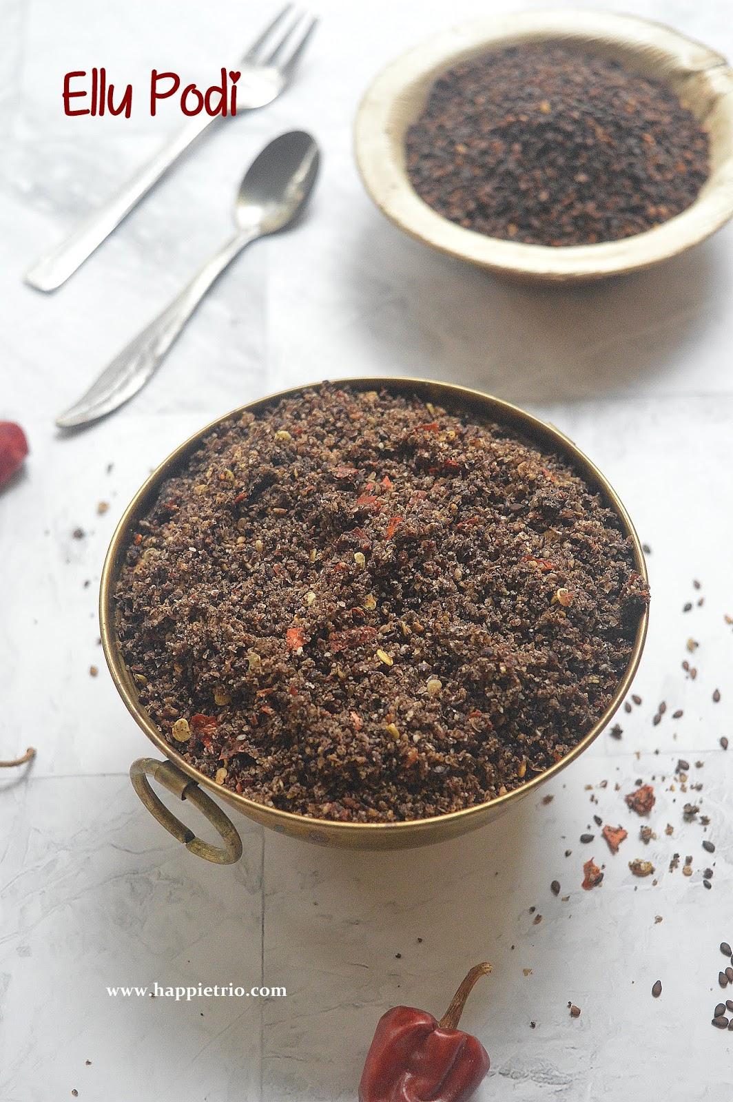 Ellu Podi Recipe | Sesame Seeds Chutney Powder