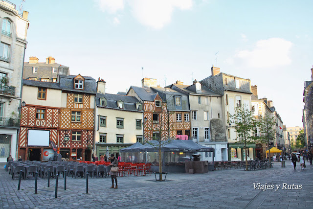 Rue Rallier du Baty, Rennes