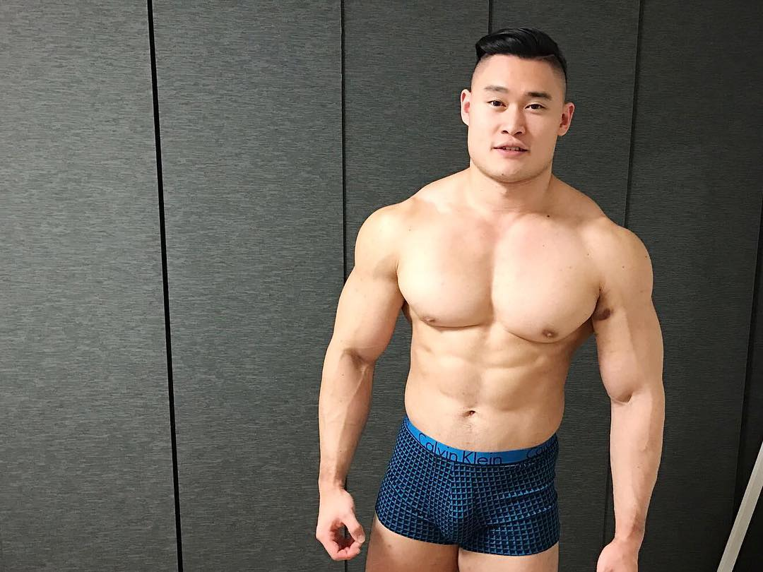 Hot Asian Bodybuilder