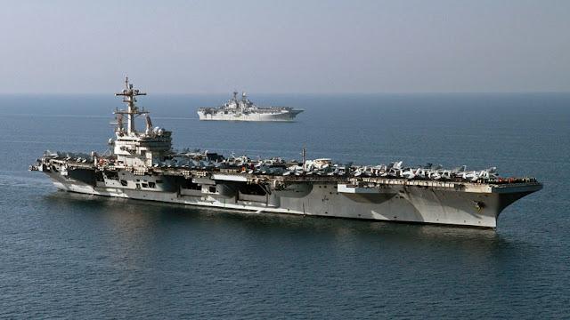 Tres tripulantes de un portaviones de EE.UU. se suicidan en una semana